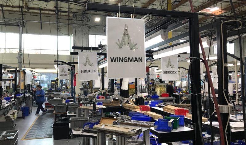 Nhà máy sản xuất của Leatherman được đặt tại Portland, Oregon, Hoa Kỳ