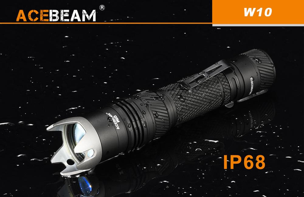 Tính ứng dụng cao nhờ đa dạng màu sắc ánh sáng là thế mạnh của Acebeam W10