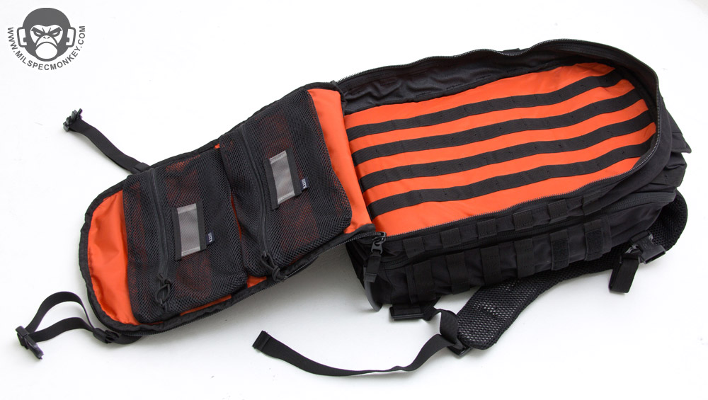 Nội thất của Balo 5.11 Tactical All Hazards Prime