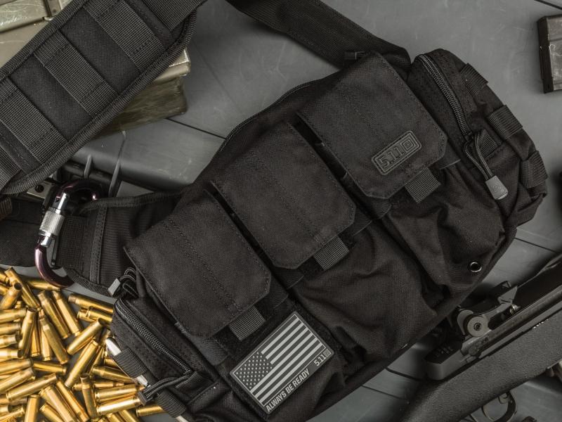 Ba ngăn này ở Mỹ đựng băng đạn, ở Việt Nam anh em sẽ đựng gì?