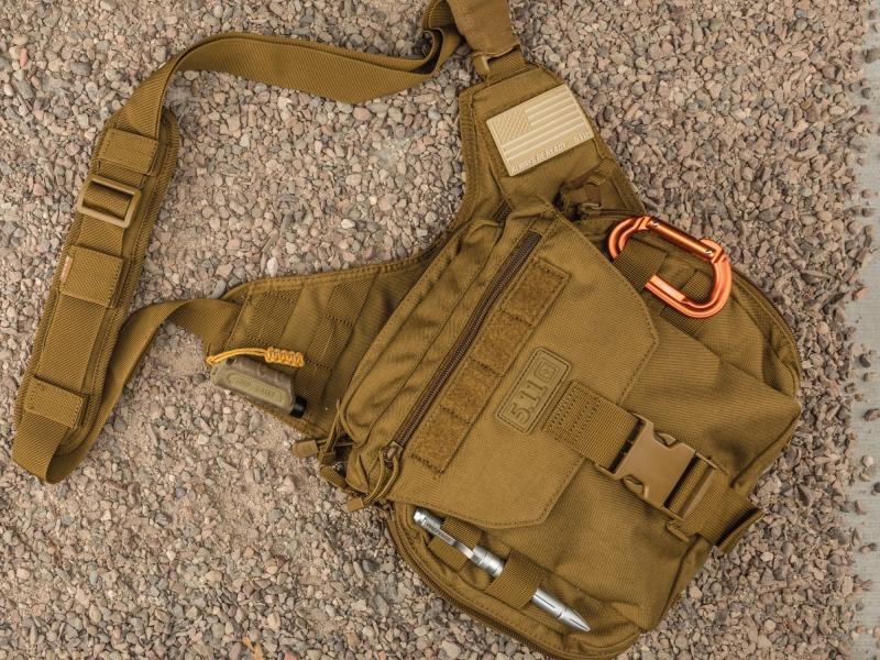 5.11 Tactical Push Pack - Một trong những chiếc túi EDC đầu tiên