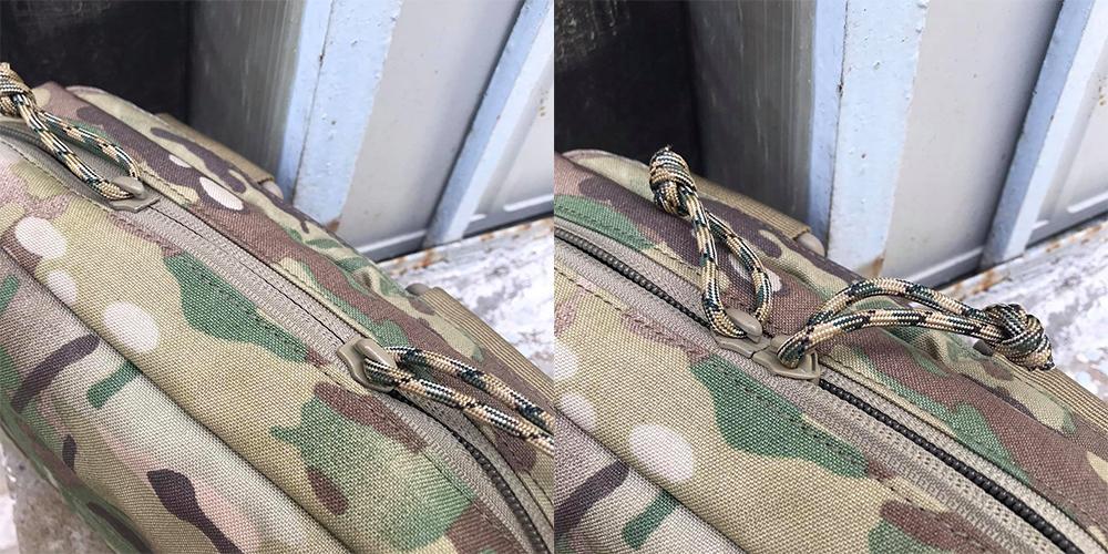 Thiết kế khóa kéo ngược trên CT5-Chiếc túi đeo EDC tốt nhất năm 2021 của Chuyentactical.com