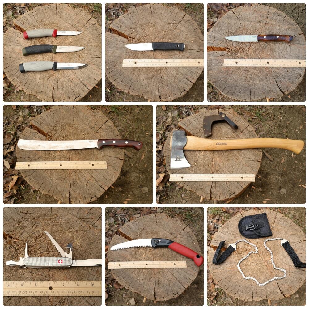 Rìu, dao hay cưa sẽ là lựa chọn của bạn?